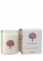 Royal Doulton Sweetpea, Rose & Sandalwood Candle