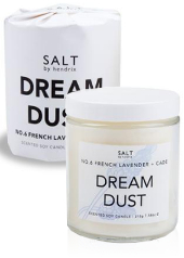 Salt by Hendrix Dream Dust Candle
