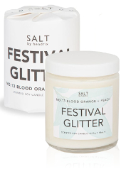 Salt by Hendrix Festival Glitter Candle
