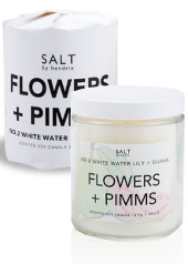 Salt by Hendrix Flower and Pimms Candle