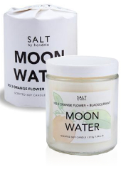 Salt by Hendrix Moon Water Candle