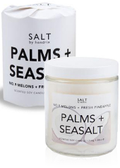 Salt by Hendrix Palms + Seasalt Candle