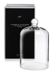 Sohum Black Boxed Candle Cloche