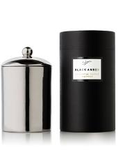 Sohum Emperor Black Amber Candle