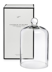 Sohum White Boxed Candle Cloche
