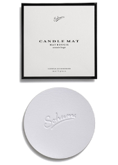 Sohum White Boxed Candle Mat