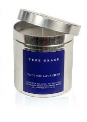 True Grace English Lavender Tin Candle