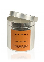 True Grace Stem Ginger Tin Candle