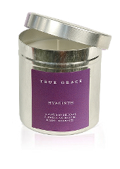 True Grace Hyacinth Tin Candle