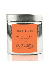 True Grace Oranges & Lemons Tin Candle