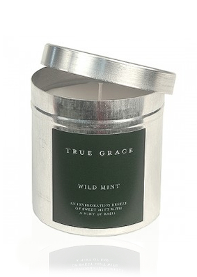 True Grace Wild Mint Tin Candle