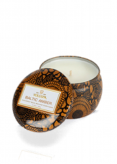 Voluspa Japonica Baltic Amber Travel Tin Candle