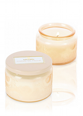 Voluspa Japonica Creme De Peche Petite Candle...Last Stock Available