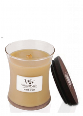 Woodwick At The Beach Medium Jar Candle