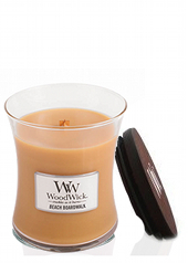 Woodwick Beach Boardwalk Medium Jar Candle