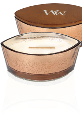 Woodwick Christmas Copper Jolly Gingerbread Hearthwick Candle