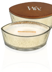 Woodwick Christmas Gold Oatmeal Cookie Hearthwick Candle