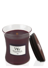 Woodwick Fig Medium Jar Candle