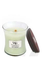 Woodwick Sweet Lime Gelato Medium Jar Candle