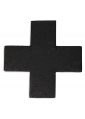 Zakkia Black Concrete Trivet